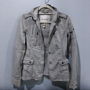 American Eagle Outfitters khaki jacket XS